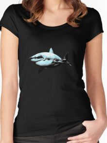 Great White Shark Women's Fitted Scoop T-Shirt