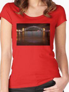 Vivid Bridge 4 Women's Fitted Scoop T-Shirt