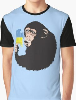 Oooooz Chimp Graphic T-Shirt