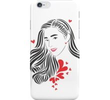 Goddess Sandara Black ver iPhone Case/Skin
