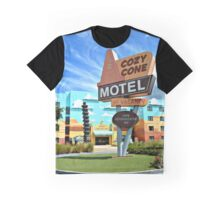 The Cozy Cone Motel Graphic T-Shirt