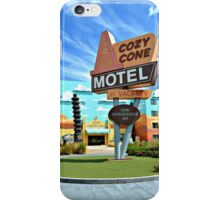 The Cozy Cone Motel iPhone Case/Skin