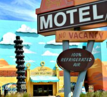 The Cozy Cone Motel Sticker
