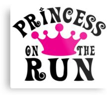 Princess on the run! Metal Print