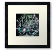 Spidey Woman | Black Widow Framed Print