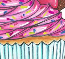 Cupcake Sundae Sticker