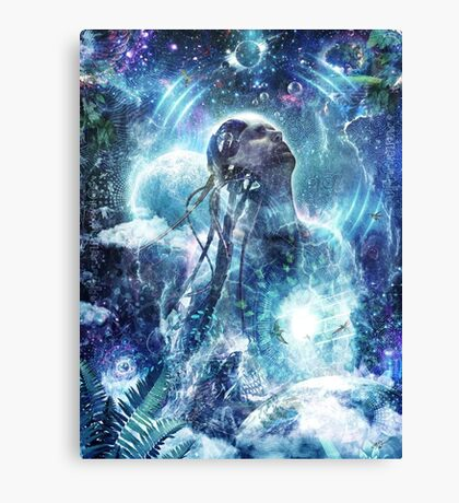 Become The Light Canvas Print