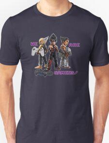 Inspired by Heihachi, Jin and Kazuya of Tekken Unisex T-Shirt