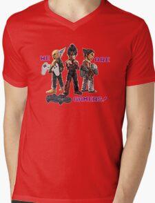 Inspired by Heihachi, Jin and Kazuya of Tekken Mens V-Neck T-Shirt