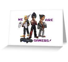 Inspired by Heihachi, Jin and Kazuya of Tekken Greeting Card