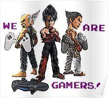 Inspired by Heihachi, Jin and Kazuya of Tekken Poster
