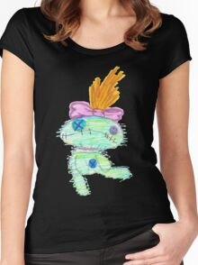 Lilo And Stitch Scrump Women's Fitted Scoop T-Shirt