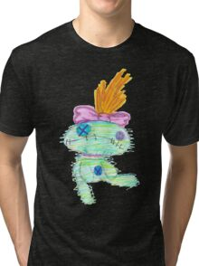 Lilo And Stitch Scrump Tri-blend T-Shirt