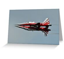Patrouille Suisse Greeting Card