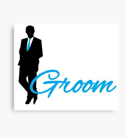 Groom Canvas Print