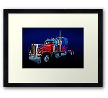 Optimus Prime Framed Print