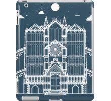 Italian Architecture Profile Blueprint iPad Case/Skin