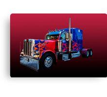 Optimus Prime 2 Canvas Print