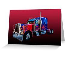 Optimus Prime 2 Greeting Card