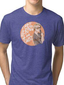 """Jillian Holtzmann """"I Ain't Afraid of No Ghost"""" Tri-blend T-Shirt"""