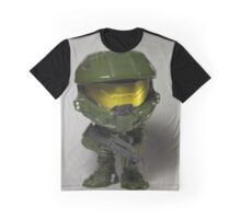 Master Chief POP head Graphic T-Shirt