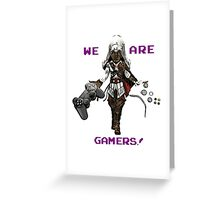Inspired by Ezio of Assassin's Creed Greeting Card