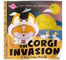 4th Annual Corgi Beach Day Poster