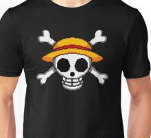 Pixel no Luffy Unisex T-Shirt