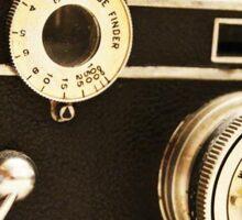 Old Black Camera Sticker