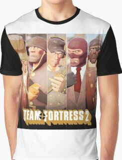 Team Fortress 2 Poster Graphic T-Shirt