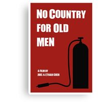 No Country For Old Men film poster Canvas Print