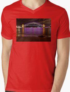 Vivid Bridge 5 Mens V-Neck T-Shirt