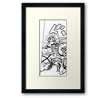 Johny faith Framed Print