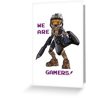 Inspired by Halo Greeting Card