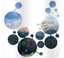 Geometric Circle pattern 1 Poster