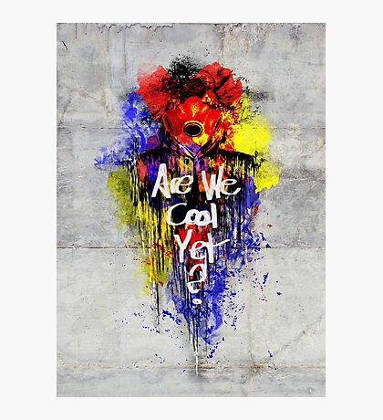 AWCY Graffiti Photographic Print