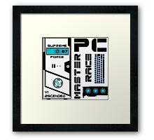 PC Master Race Framed Print
