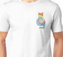 Tie Die Cat Unisex T-Shirt