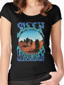 Jerusalem and Dopesmoker Women's Fitted Scoop T-Shirt