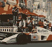 King of Monaco - Ayrton Senna by Floris155