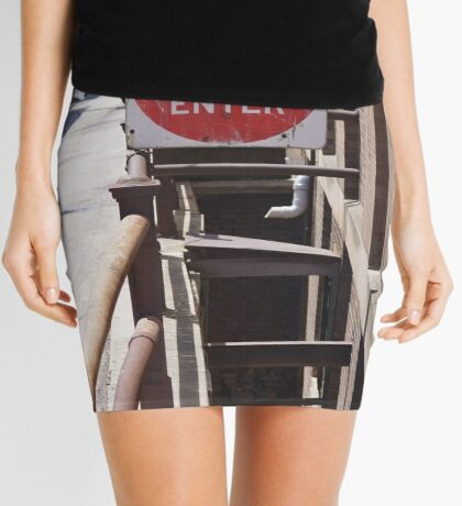 None Shall Pass Mini Skirt