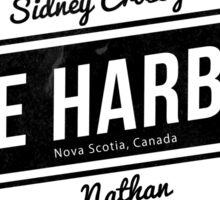 Cole Harbour Black  Sticker