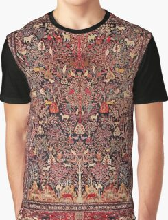 Persian Vintage Antique Carpet Nature Fine Art Graphic T-Shirt