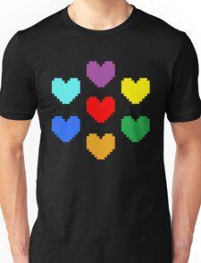 Pixel Hearts Unisex T-Shirt