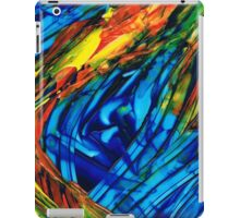 Colorful Abstract Art - Energy Flow 3 - By Sharon Cummings iPad Case/Skin