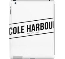 Cole Harbour White iPad Case/Skin