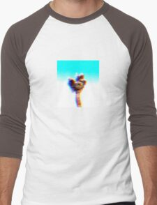 Walking with moon (colors edited per request) Men's Baseball ¾ T-Shirt