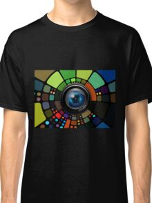Camera Lens Graphic Design Classic T-Shirt