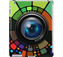 Camera Lens Graphic Design iPad Case/Skin