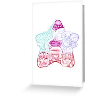 Gems!  Call Your Weapon! Greeting Card